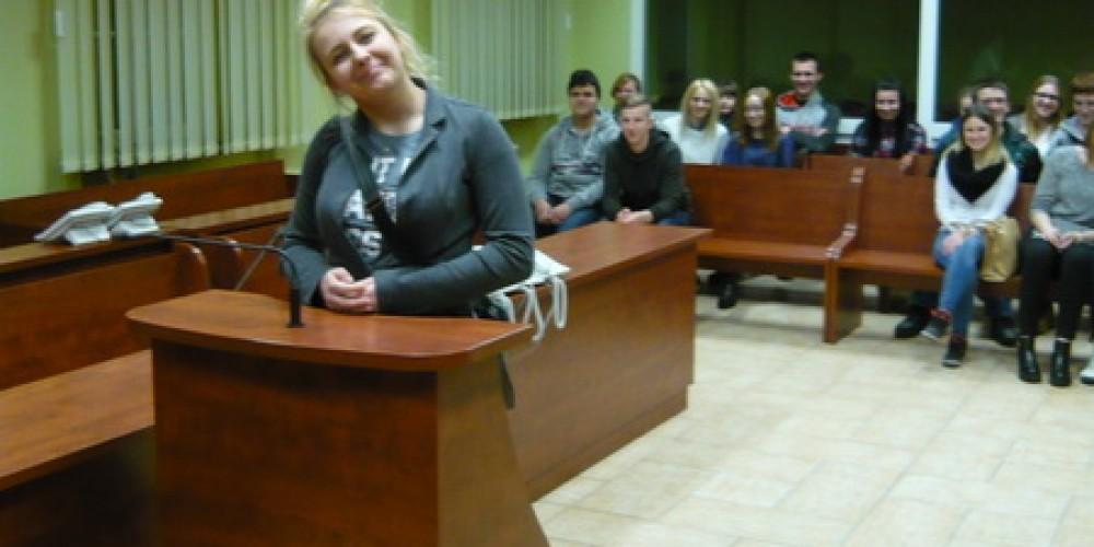 Z wizytą w Sądzie Rejonowym w Gorzowie Wlkp.