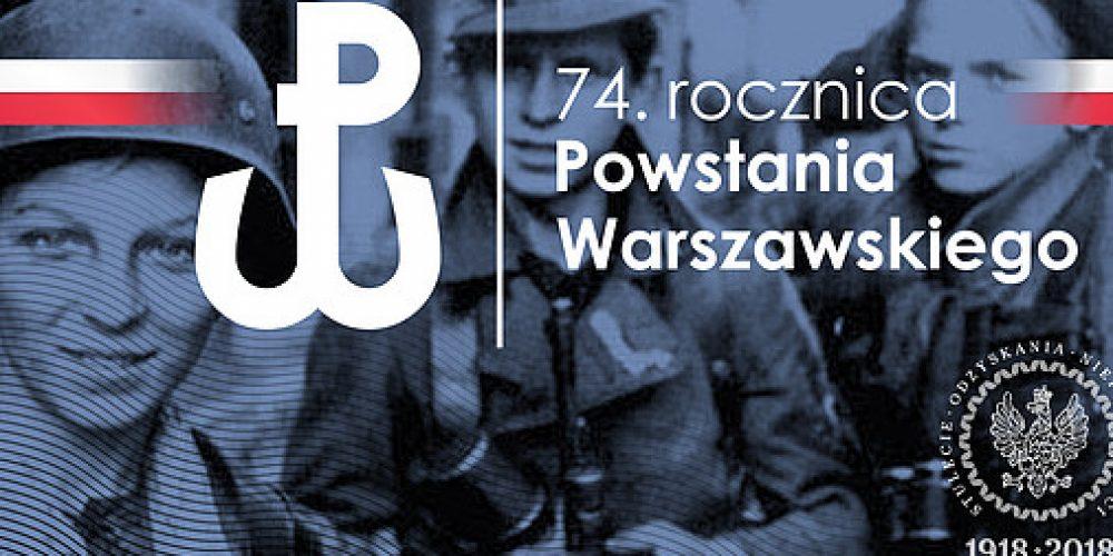 74 rocznica Powstania Warszawskiego