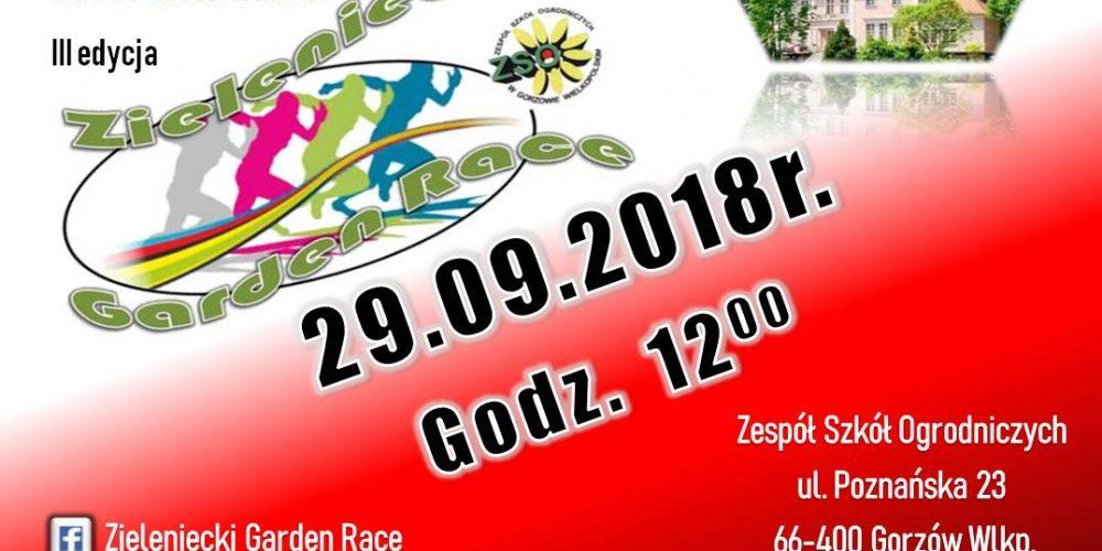 ZIELENIECKI GARDEN RACE - NIEPODLEGŁOŚCIOWY BIEG Z PRZESZKODAMI!