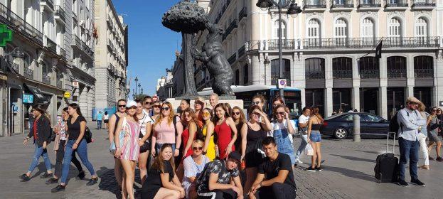 Euroogrodnik 2019 - wycieczka po Madrycie