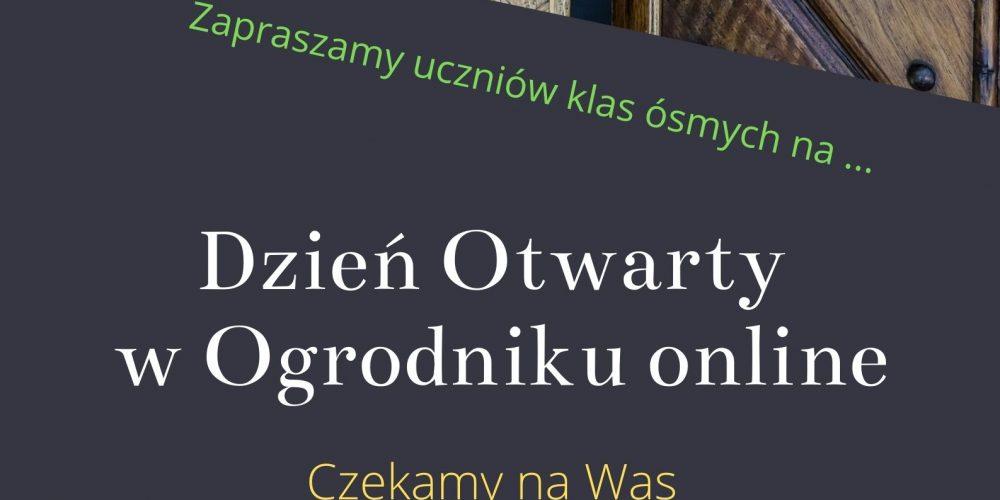 Dzień Otwarty w Ogrodniku